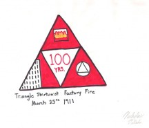 Triangle Fire drawing