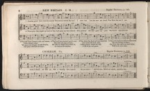 """Amazing Grace"" or ""New Britain"" published in Southern Harmony, 1847"