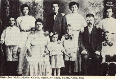 Annie Nicholas, 1904