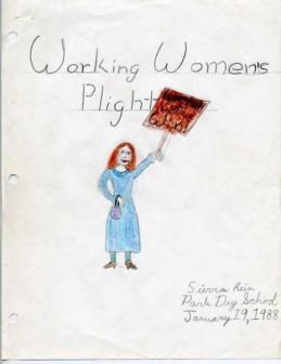 Working Women's Plight 1