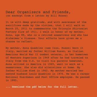 Dear Organizers and Friends