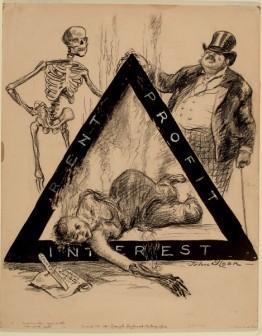 John Sloan : Triangle