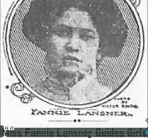 Chalking Fannie Lansner