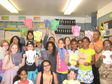 Ampark Neighborhood (PS 344) Elementary, 5th grade class Shirtwaists Project